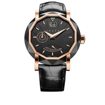 Graf Star Grande Date Steel Rose Gold new
