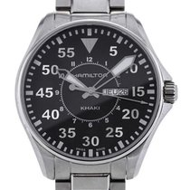 Hamilton Khaki Aviation Pilot 42mm Black Dial