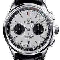 Breitling Steel 42mm White No numerals