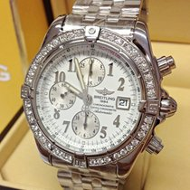 Breitling Chronomat Evolution Diamond Bezel - Serviced By...