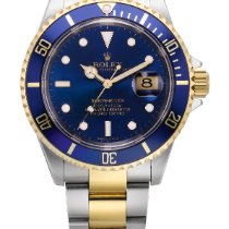 Rolex Submariner, Reference 16613t A Yellow Gold And Stainless...