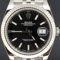 Rolex Datejust 41MM Jubilee, Black Dial, Box&Papers/2017