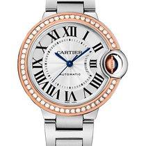 Cartier Ballon Bleu 33mm we902080 new