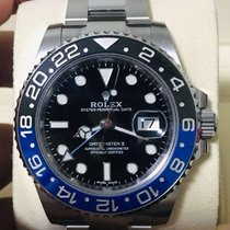 Rolex GMT-Master II Steel 40mm Black No numerals Singapore, Singapore