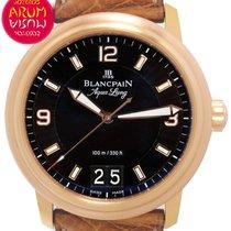 Blancpain 40mm Automatisch tweedehands Léman (Submodel) Zwart