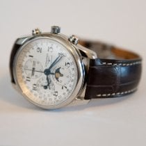Longines Master Collection Steel 40mm Silver Arabic numerals United States of America, Nevada, Reno