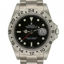 Rolex Explorer II Steel 40mm Black