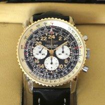 Breitling Navitimer Cosmonaute Gold/Steel 41mm Black Arabic numerals