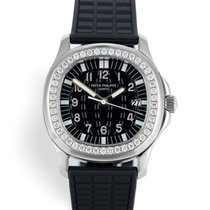Patek Philippe pre-owned 35.6mm Black Sapphire Glass 10 ATM