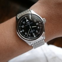 IWC IW3253 Steel Pilot Mark 38mm pre-owned United States of America, Illinois, Chicago