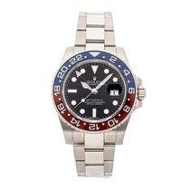 Rolex 116719BLRO Ouro branco GMT-Master II 40mm usado