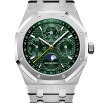 Audemars Piguet Royal Oak Perpetual Calendar new 2019 Automatic Watch with original box and original papers 26606ST.OO.1220ST.01