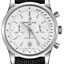 Breitling Transocean Chronograph 38 new Automatic Chronograph Watch with original box A4131012-G757-218X