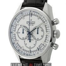 Zenith El Primero 36'000 VpH Steel 42mm White United States of America, New York, New York