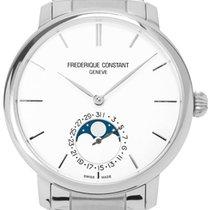 Frederique Constant Manufacture Slimline Moonphase occasion 42mm Acier