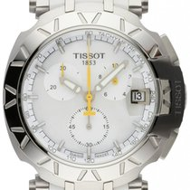 Tissot T-Race Steel 47.2mm Mother of pearl