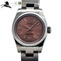 Rolex Oyster Perpetual 26 Steel 26mm Pink