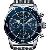 Breitling Superocean Héritage II Chronographe A13313161C1A1 Ny Stål 44mm Automatisk