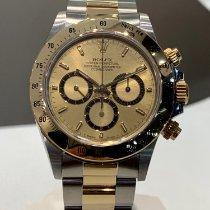 Rolex Daytona 16523 Nenošené Zlato/Ocel 40mm Chronograf