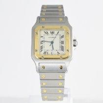 Cartier Santos Galbée Gold/Steel 29mm White Roman numerals United Kingdom, St Albans