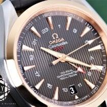 Omega Seamaster Aqua Terra Or/Acier 43mm Brun