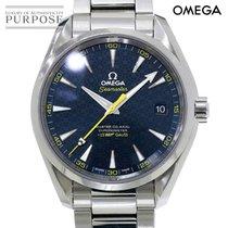 Omega Seamaster Aqua Terra Staal 41mm Blauw