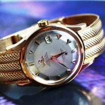 Omega Constellation Rose gold 34mm Silver No numerals