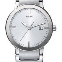 Rado Centrix Stahl 28mm Silber Keine Ziffern Deutschland