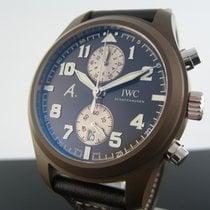 IWC Fliegeruhr Chronograph Keramik 46mm Braun Arabisch Deutschland, München