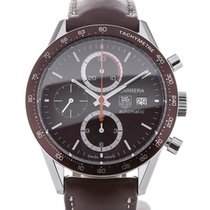 TAG Heuer Carrera 41 Automatic Chronograph Leather Calibre 16