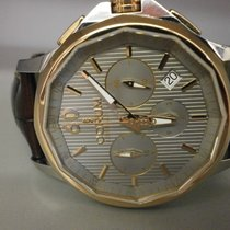 Corum Admirals Cup Legend 42 Chronograph 18k Rose & S/s Grey...