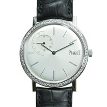 Piaget Altiplano 18k White Gold Silver Manual Wind G0A35118