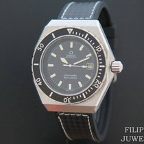 Omega Bronze Automatic Black 42mm pre-owned Seamaster