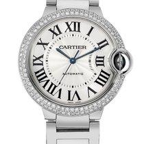 Cartier WE9006Z3 Ballon Bleu Diamond Automatic Unisex 18kt...