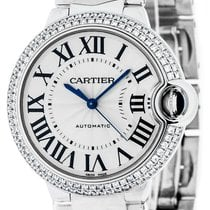 Cartier Ballon Bleu 36mm new Automatic Watch with original box WE9006Z3