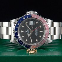 "Rolex GMT-Master ""PEPSI"" Stahl aus 1995 Ref. 16700..."
