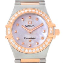 Omega Constellation My Choice Mini Diamond Ladies Watch...