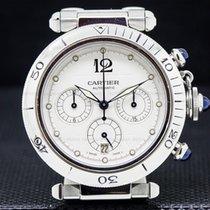 Cartier W31030H3 Pasha Chronograph SS / SS (27248)