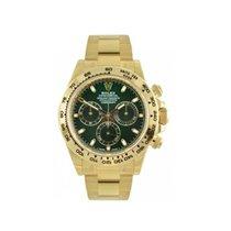 Rolex Daytona Green Dial 18 K Yellow Gold 116508