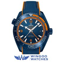 Omega Seamaster Planet Ocean BIG BLUE Co-Axial Master GMT Ref....