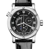 Ralph Lauren White gold 45mm Automatic R0212701 new