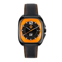 Liv Watches Limited Edition Rebel-A Black IP Swiss Made Auto...