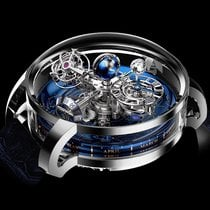 Jacob & Co. Astronomia Platino 47mm Azul Romanos