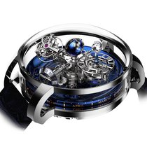 Jacob & Co. Astronomia Platina 47mm Albastru Roman