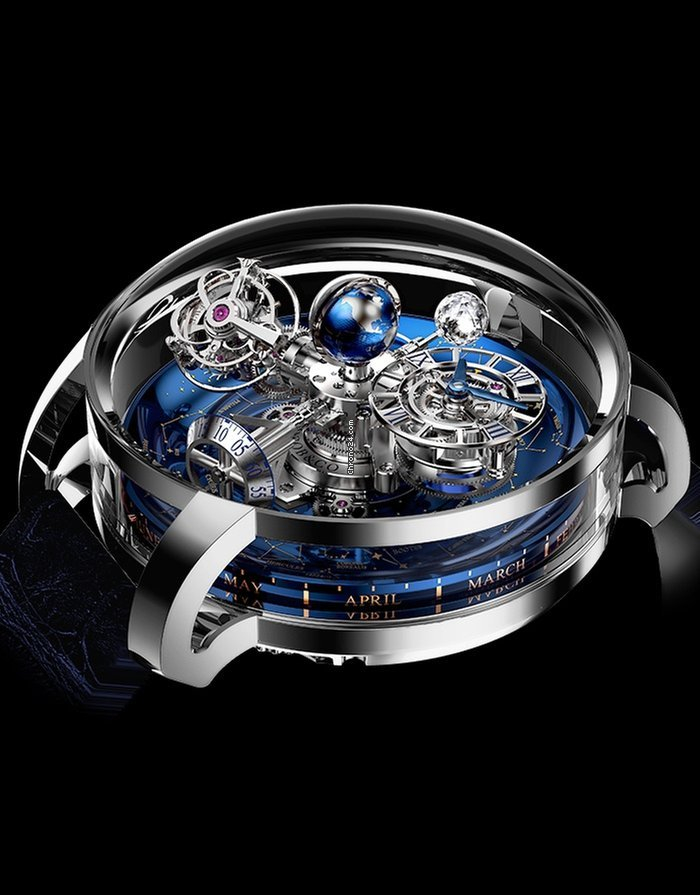 Jacob co astronomia sky platinum for 519 670 for sale from a seller on chrono24 for Jacob co watches