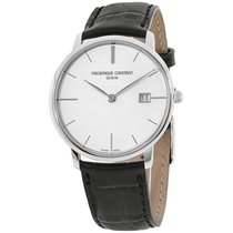 Frederique Constant Slimline Gents Steel 38mm Silver United States of America, New York, Brooklyn