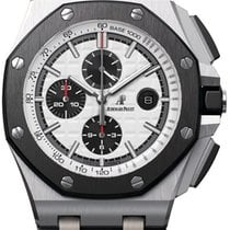 Audemars Piguet Royal Oak Offshore Chronograph Steel 44mm Silver No numerals United States of America, New York, NYC