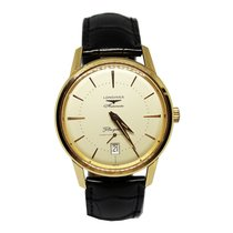 Longines Flagship Heritage Rose gold 38.5mm Champagne No numerals