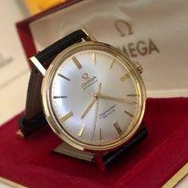 Omega Seamaster De Ville 14K Solid Yellow Gold mens vintage watch