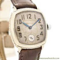 Waltham White gold 29mm Manual winding pre-owned United States of America, California, Beverly Hills